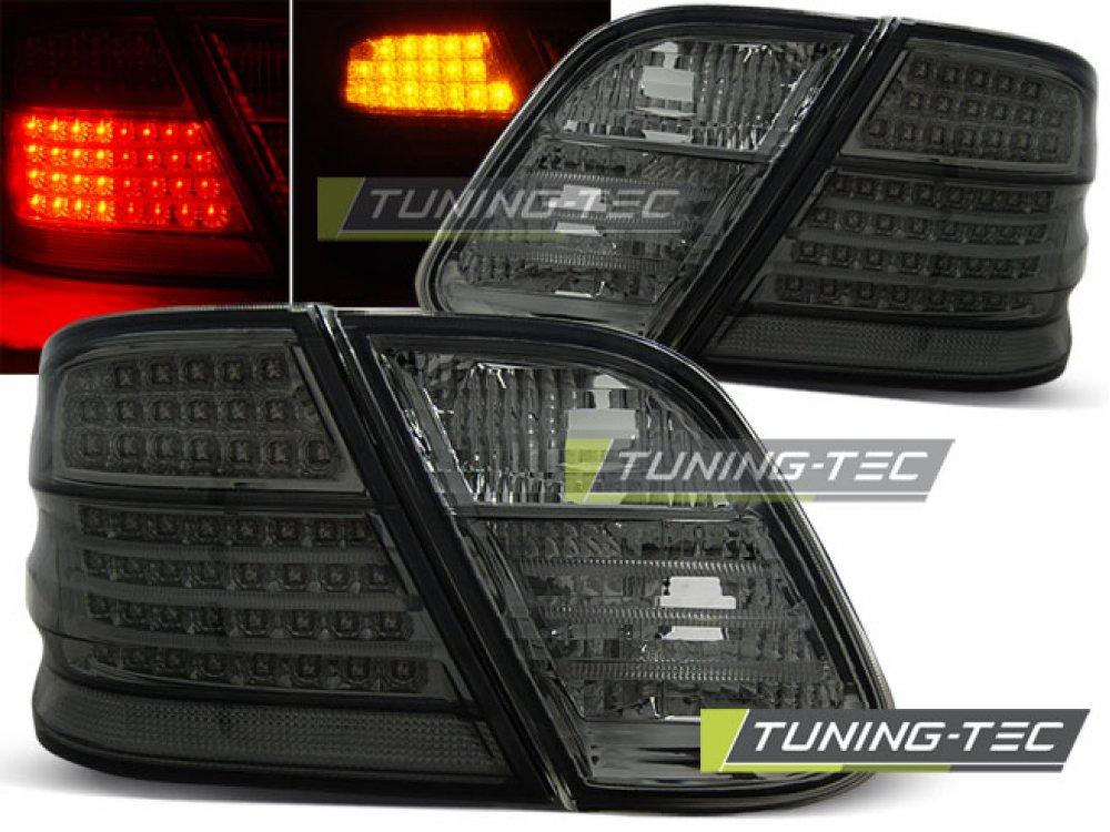 Задние фонари LED Full Smoke от Tuning-Tec на Mercedes CLK класс W208