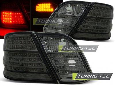 Задние светодиодные фонари LED Full Smoke от Tuning-Tec на Mercedes CLK класс W208