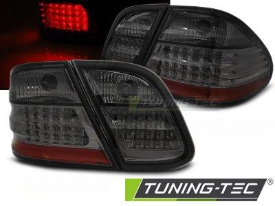 Задние диодные фонари LED Smoke от Tuning-Tec на Mercedes CLK класс W208