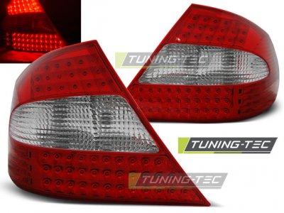 Задние фонари LED Red Crystal от Tuning-Tec на Mercedes CLK класс W209