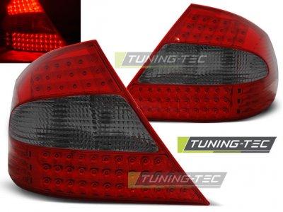 Задние фонари LED Red Smoke от Tuning-Tec на Mercedes CLK класс W209
