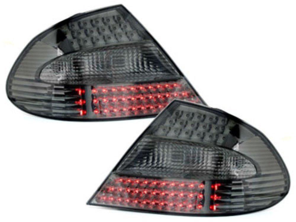 Задние фонари LED Smoke на Mercedes CLK класс W209