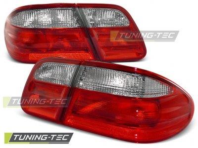 Задняя альтернативная оптика Red Crystal на Mercedes E класс W210
