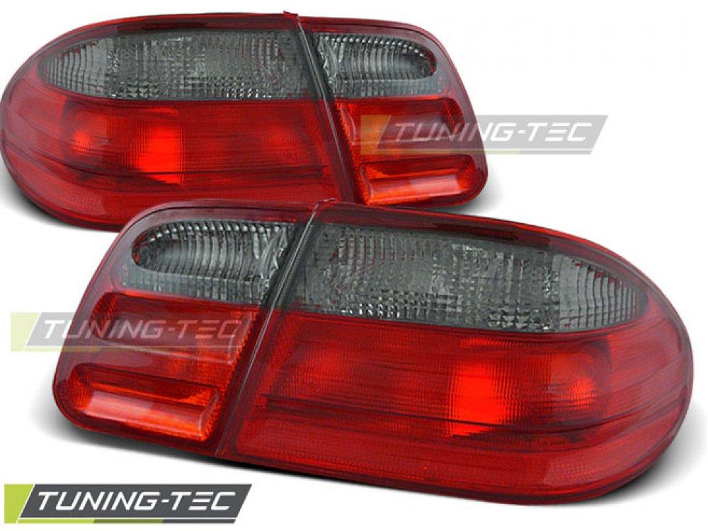 Задние фонари Red Smoke на Mercedes E класс W210