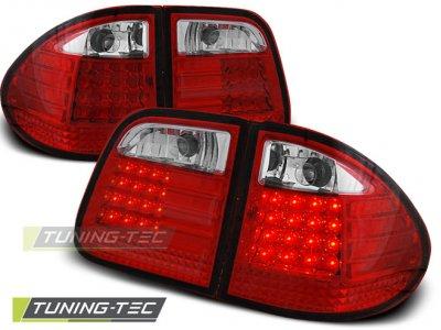 Задние фонари LED Red Crystal от Tuning-Tec на Mercedes E класс W210 Kombi