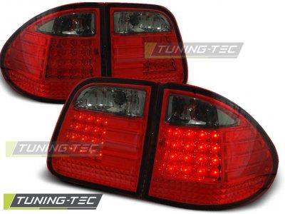 Задние фонари LED Red Smoke от Tuning-Tec на Mercedes E класс W210 Kombi