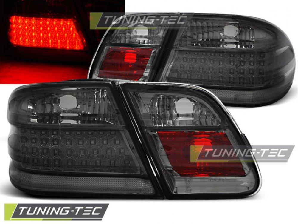Задние фонари LED Smoke Var2 от Tuning-Tec на Mercedes E класс W210