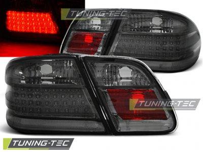 Задние светодиодные фонари LED Smoke Var2 от Tuning-Tec на Mercedes E класс W210