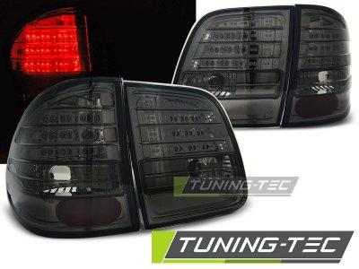 Задние фонари LED Smoke от Tuning-Tec на Mercedes E класс W210 Kombi