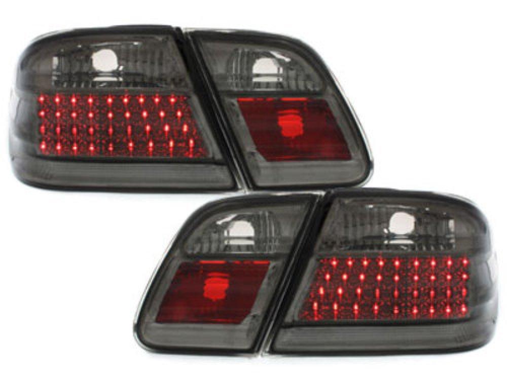 Задние диодные фонари LED Smoke на Mercedes E класс W210
