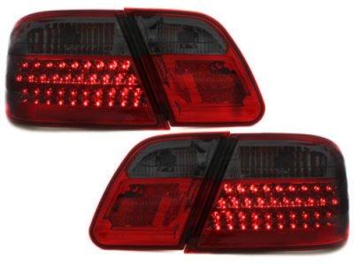 Задние фонари LED Red Black на Mercedes E класс W210