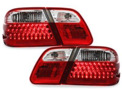 Задние фонари LED Red Crystal на Mercedes E класс W210