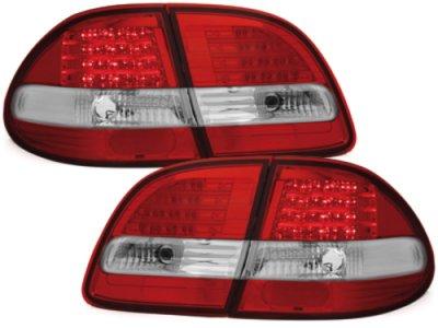 Задние фонари LED Red Crystal на Mercedes E класс W211 T-Mode