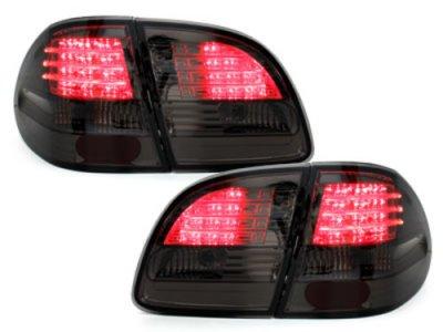 Задние фонари LED Smoke на Mercedes E класс W211 T-Mode