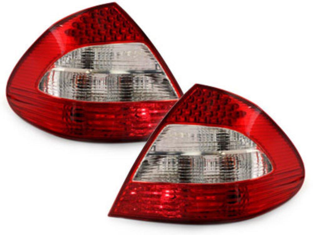 Задние фонари LED Red Crystal на Mercedes E класс W211