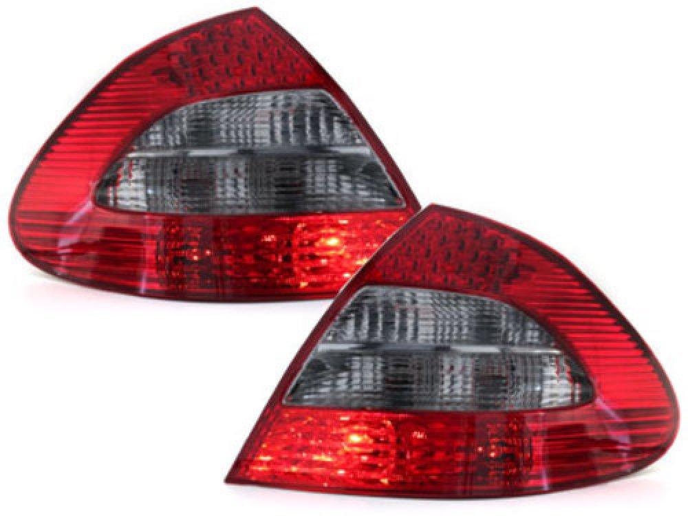 Задние фонари LED Red Smoke на Mercedes E класс W211