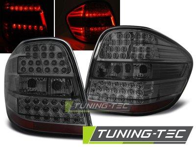 Задние диодные фонари LED Smoke на Mercedes ML класс W164