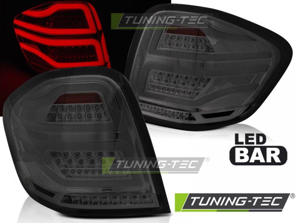 Задние фонари LED Smoke в стиле W166 на Mercedes ML класс W164