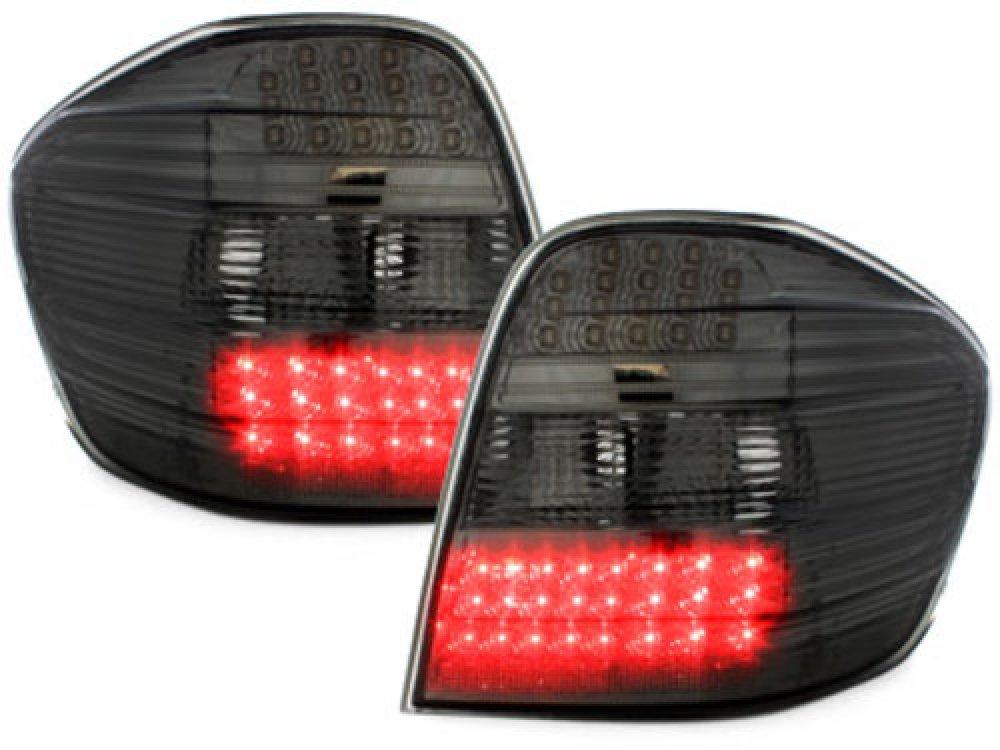 Задние фонари LED Smoke на Mercedes ML класс W164