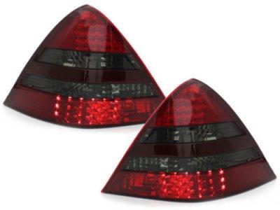 Задние фонари LED Red Smoke на Mercedes SLK класс R170