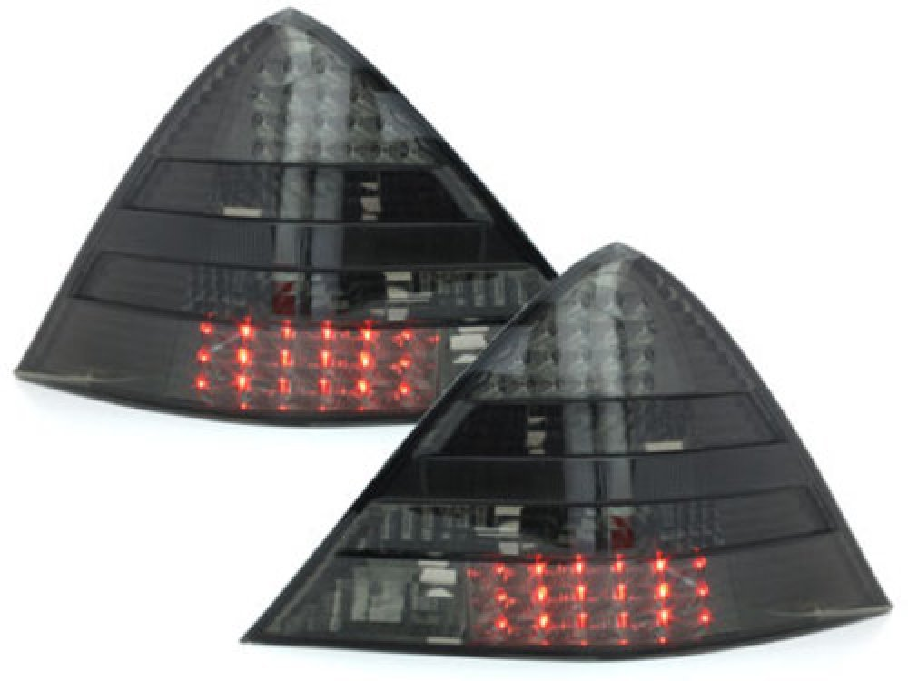 Задние фонари LED Smoke на Mercedes SLK класс R170
