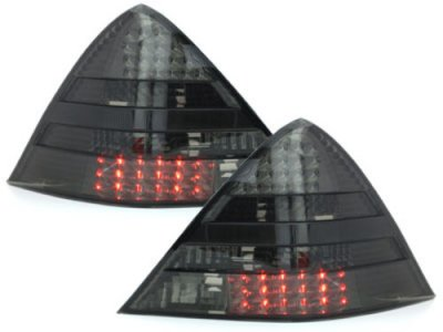 Задняя альтернативная оптика LED Smoke на Mercedes SLK класс R170