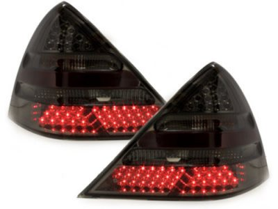 Задние диодные фонари LED Smoke на Mercedes SLK класс R170