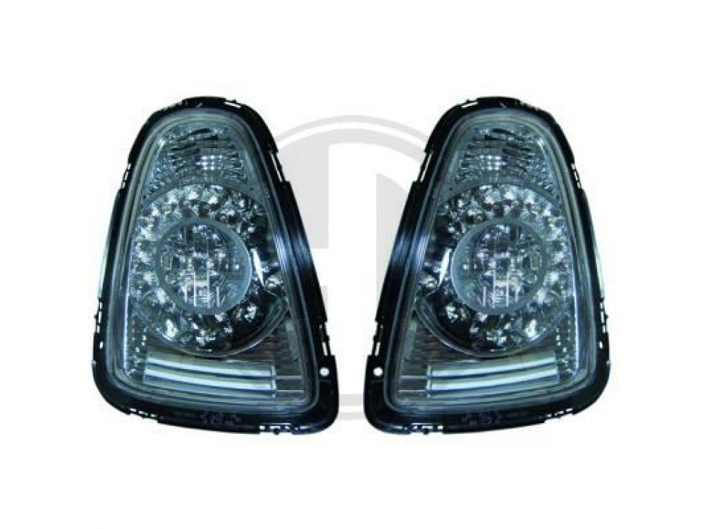 Задние диодные фонари LED Chrome Var2 на MINI Cooper / One