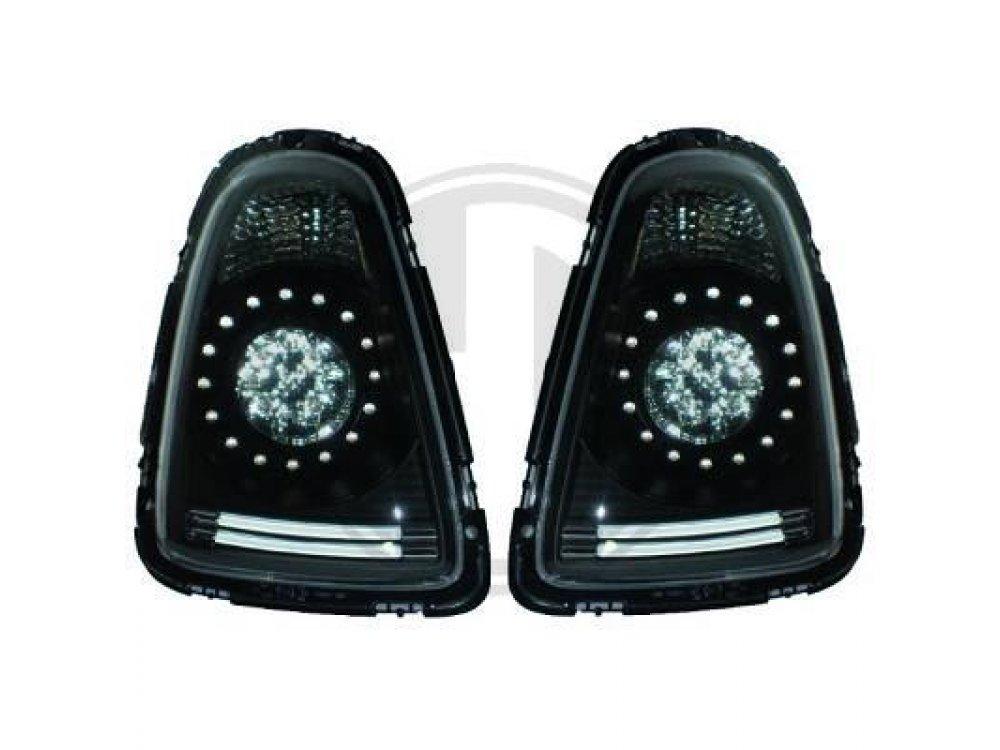 Задние диодные фонари LED Black Var2 на MINI Cooper / One