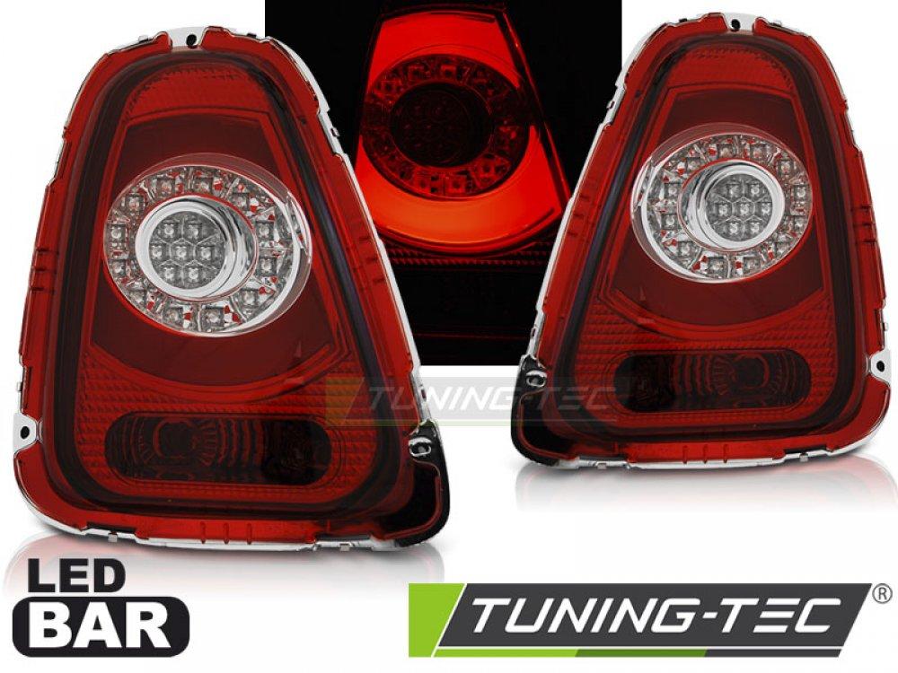 Задние светодиодные фонари LED Red Crystal на MINI Cooper R56 / R57