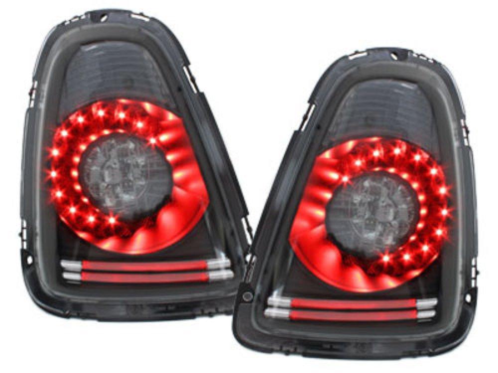 Задние диодные фонари LED Black на MINI Cooper / One