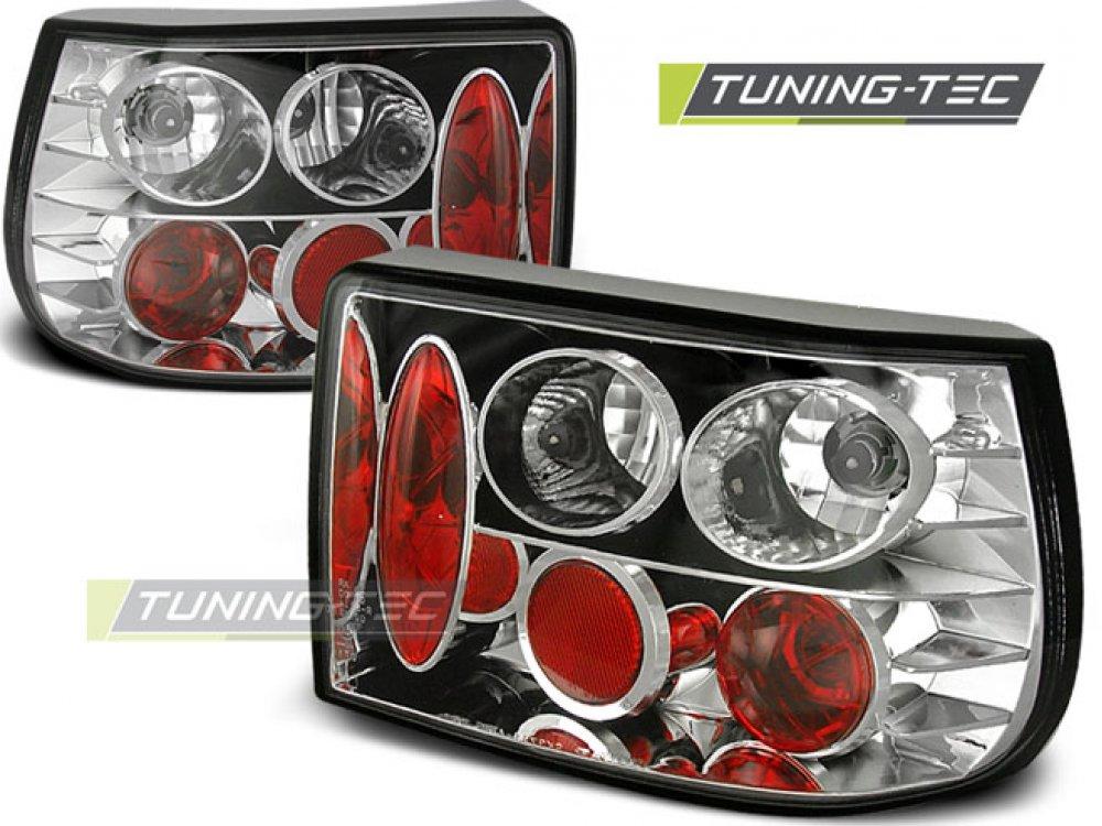 Задние фонари Chrome от Tuning-Tec на Opel Astra F Hatchback