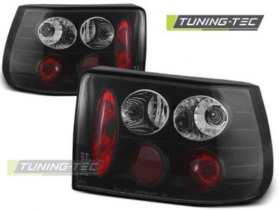 Задние фонари Black от Tuning-Tec на Opel Astra F Hatchback