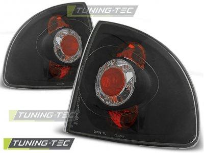 Задние фонари Black от Tuning-Tec на Opel Astra F Limousine / Cabrio
