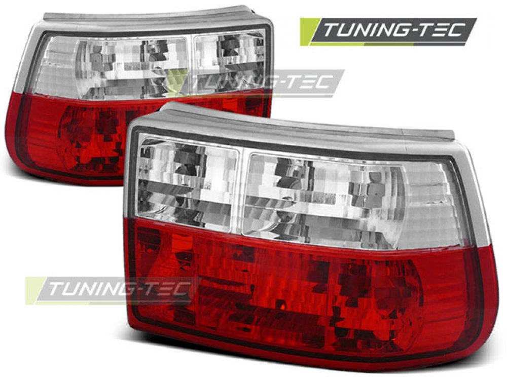 Задние фонари Red Crystal от Tuning-Tec на Opel Astra F Hatchback