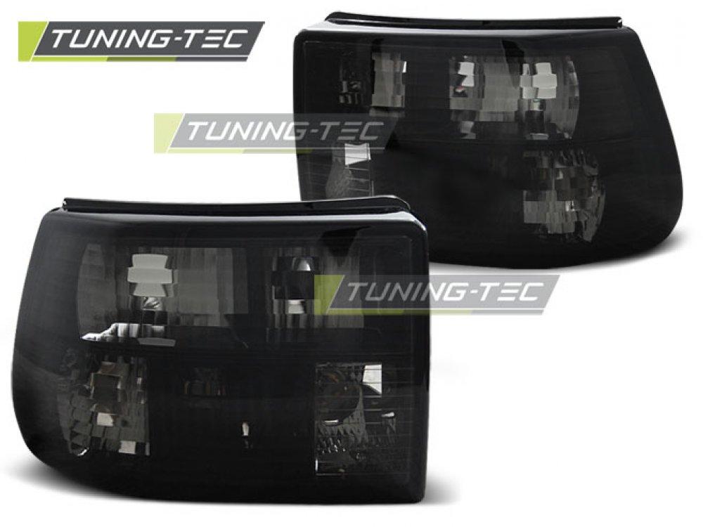 Задние фонари Smoke от Tuning-Tec на Opel Astra F Hatchback