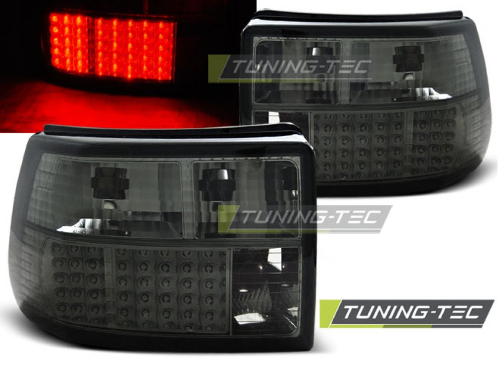 Задние фонари LED Smoke от Tuning-Tec на Opel Astra F Hatchback