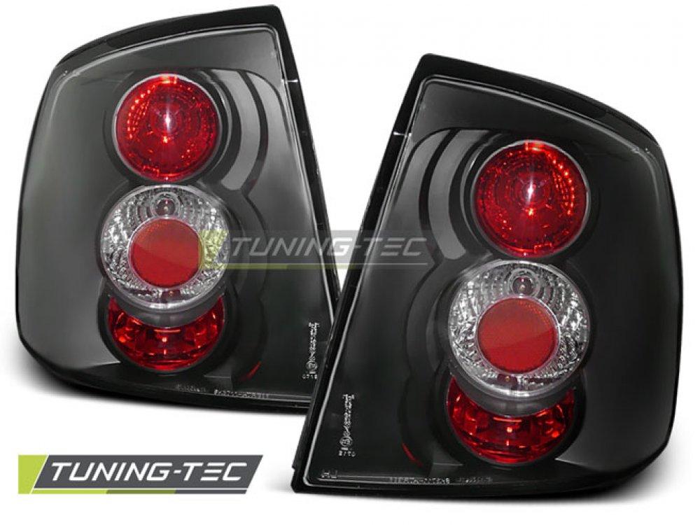 Задние фонари Black от Tuning-Tec на Opel Astra G 3D / 5D