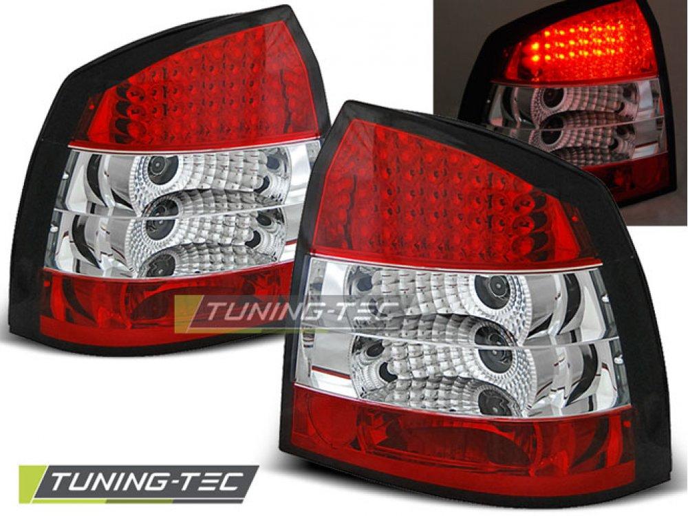 Задние фонари LED Red Crystal Var2 от Tuning-Tec на Opel Astra G 3D / 5D