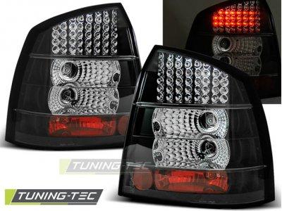 Задние фонари LED Black от Tuning-Tec на Opel Astra G 3D / 5D