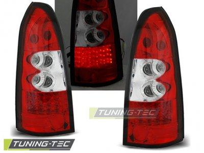 Задние фонари LED Red Crystal от Tuning-Tec на Opel Astra G Kombi