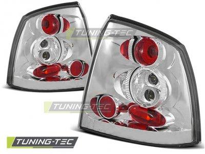Задние фонари Chrome Var2 от Tuning-Tec на Opel Astra G 3D / 5D