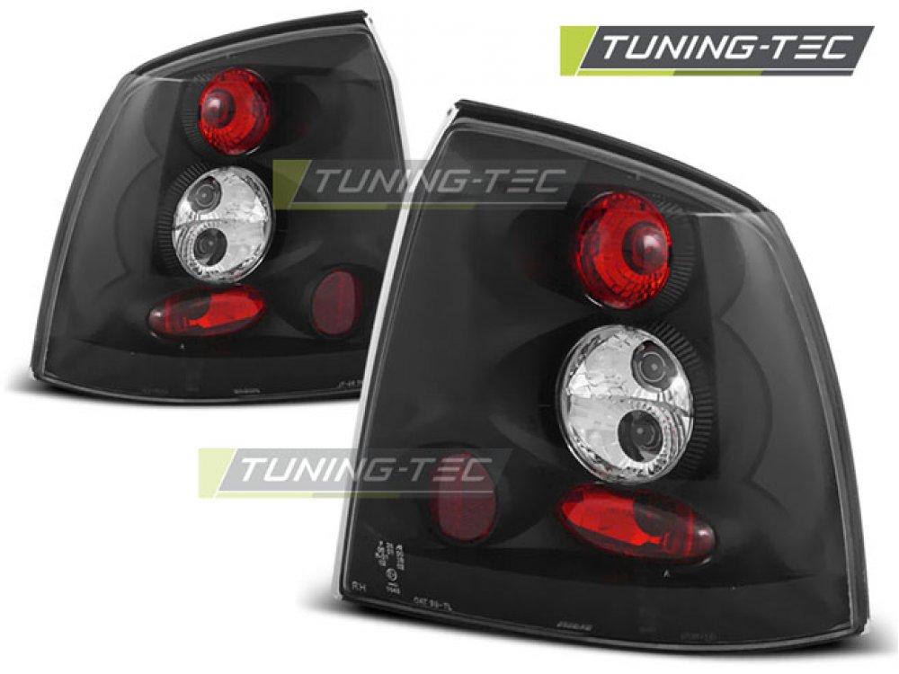 Задние фонари Black Var2 от Tuning-Tec на Opel Astra G 3D / 5D