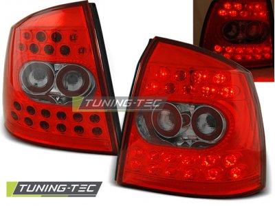 Задние фонари LED Red Crystal от Tuning-Tec на Opel Astra G 3D / 5D