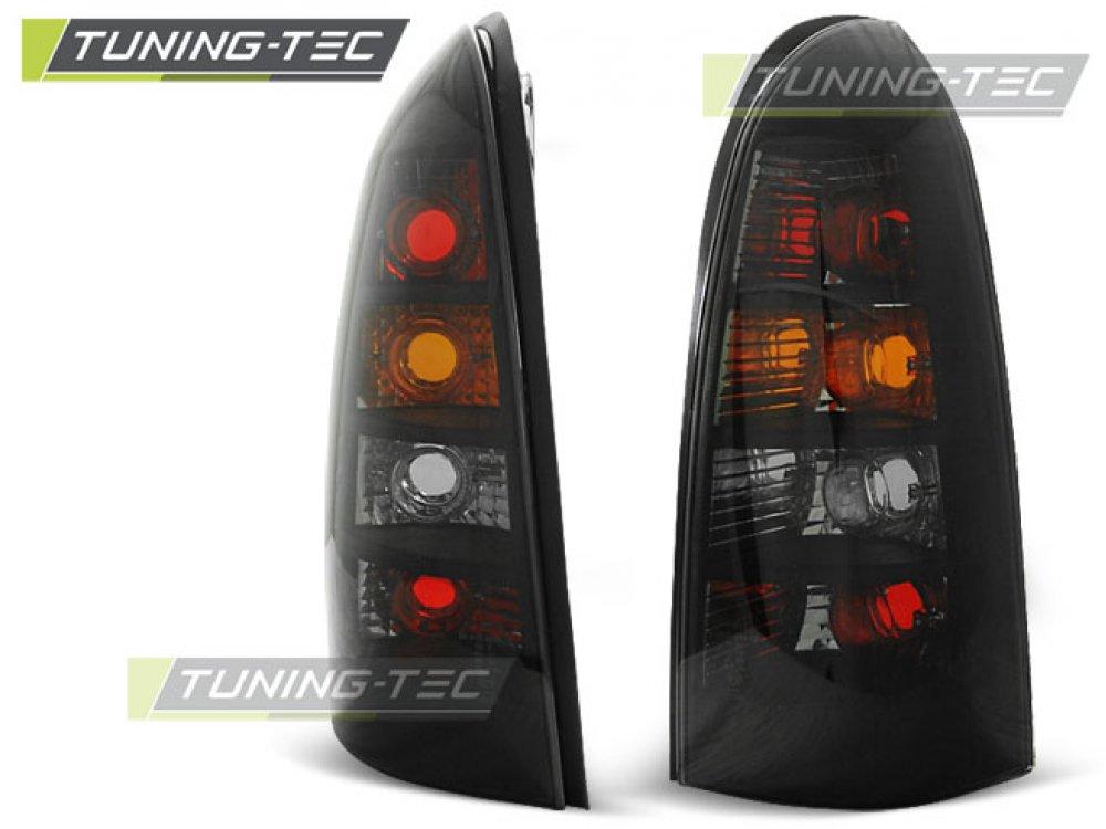 Задние фонари Black от Tuning-Tec на Opel Astra G Kombi