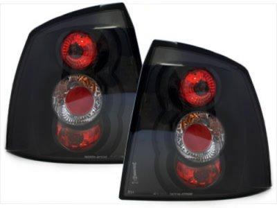 Задние фонари Black на Opel Astra G