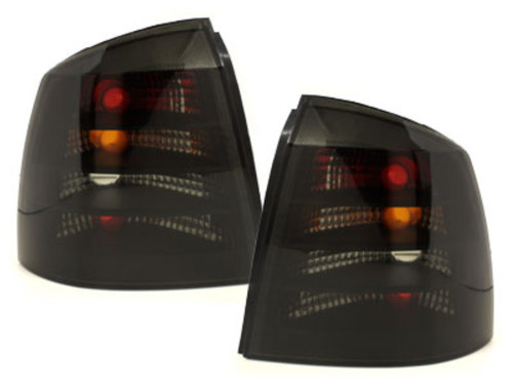 Задние фонари Smoke на Opel Astra G