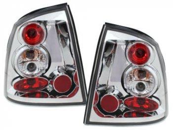 Задняя альтернативная оптика Crystal на Opel Astra G Coupe / Cabrio