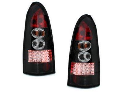 Задние фонари LED Black на Opel Astra G Caravan