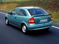 На Opel Astra G - задняя альтернативная оптика, фонари